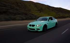 Picture green, bmw, turbo, tuning, power, speed, germany, e92