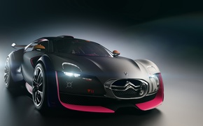 Wallpaper Concept, Citroen, 2010, Survolt