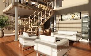 Picture design, chairs, modern, stairs, apartment, luxury, design, Interior, stylish, Modern, stylish, chairs, Luxury, Interior, stairs, …