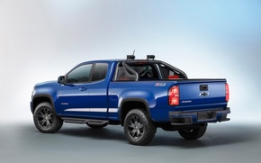 Picture Chevrolet, Chevy, Boss, Pickup, Midnight, Colorado, Trail, 2016, Trail Boss, 2016 Chevrolet Colorado Midnight Edition …