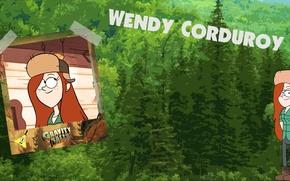 Picture Gravity Falls, Gravity Falls, Wendy Cordroy, Wendy, wendy corduroy