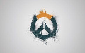 Picture Minimalism, Squirt, Game, Blizzard Entertainment, Over, Overwatch, Wallpaper game, Overwatch, Blizzard