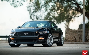 Picture Mustang, Ford, 5.0, Vossen, flow, (S550), formed, VFS1
