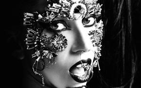 Picture girl, style, music, black, woman, dark, music, piercing, actress, dark, singer, girl, black, fashion, celebrity, …