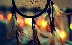 Picture feathers, amulet, Dreamcatcher, Dreamcatcher, talisman
