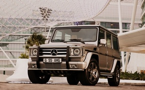 Picture machine, SUV, mercedes g55