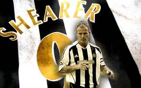 Picture wallpaper, sport, football, legend, England, player, Newcastle United, Alan Shearer