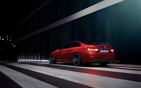 Picture BMW, German, Orange, Car, Sport, Rear, Ligth, AC-Schnitzer
