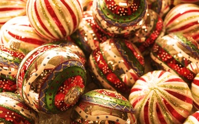 Wallpaper happy new year, christmas balL, Christmas balls, holiday, new year, Christmas Wallpaper, Christmas decorations