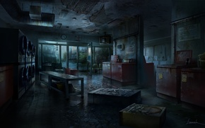 Picture darkness, concept, art, shop, The Last of Us