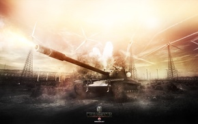 Picture Game, World of Tanks, T110E5, FuriousGFX