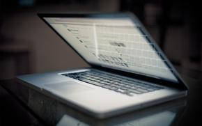 Picture table, Apple, keyboard, laptop, MacBook Pro