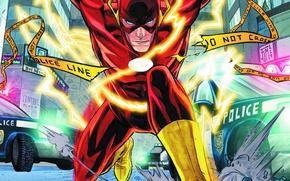 Picture city, comics, flash, barry allen