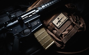 Picture macro, weapons, background
