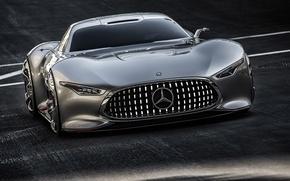 Wallpaper AMG, Mercedes-Benz, Concept, Vision, Gran Turismo