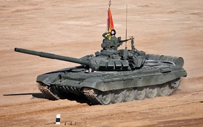 Picture Russia, test, T-72 B3, tank