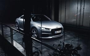 Picture Audi, Car, Silver, Automotive, Sline