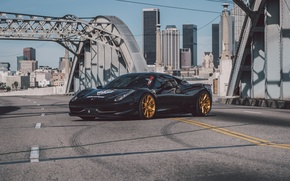 Picture black, 458, italia, carninja, errari