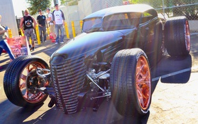 Picture Hot Rod, wheel, Hot rod