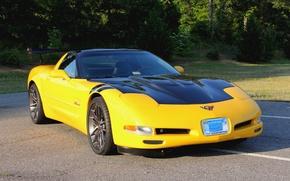 Picture Corvette, Chevrolet, One, Forged, Wheels, Parts, Piece, AR1, Forgeline, Monoblock, Zip