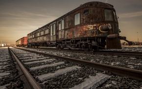 Picture background, train, railroad