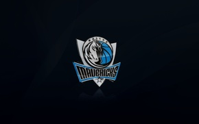 Picture Black, Blue, Basketball, Background, Logo, NBA, Dallas, Dallas, Dallas Mavericks