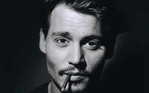 Picture cigarette, actor, johnny