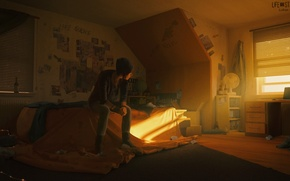 Picture girl, room, the game, Room, Chloe, Life is strange