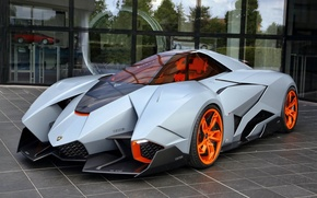 Picture Car, Concept, Egoista, Lamborghini
