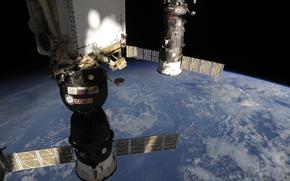 Picture Space, Union, Progress, Earth, Russian spacecraft, RKK Energiya