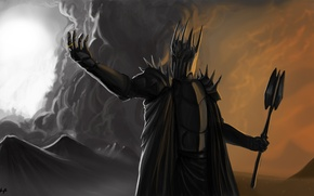 Picture the Lord of the rings, the lord of the rings, the dark Lord, Sauron