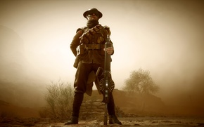 Picture weapons, war, the game, soldiers, machine gun, British, Electronic Arts, Battlefield 1