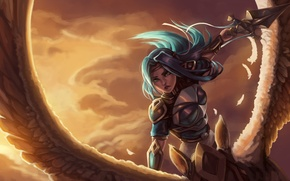 Picture fan art, Grand Duelist, fiora, lol, League of Legends