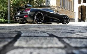 Picture tuning, Koenigsegg, black, Agera r