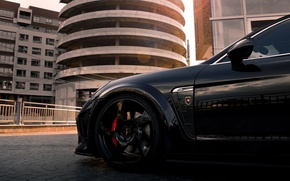 Picture black, tuning, Porsche, turbo, Porsche, black, mansory, tuning, panamera, Panamera, turbo, Mansory