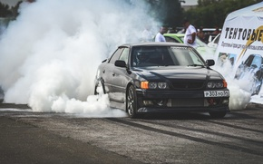 Picture drift, toyota, jzx100, russia, chaser