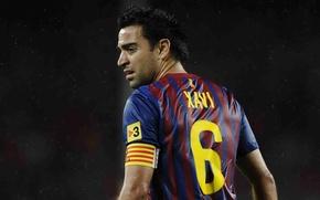 Picture football, xavi, f.c barcelona