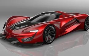 Picture Concept, Red, Vision, Gran Turismo, SuperCar, SRT Tomahawk