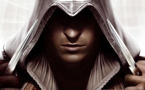 Wallpaper Assassin's Creed, the hood, Assassin