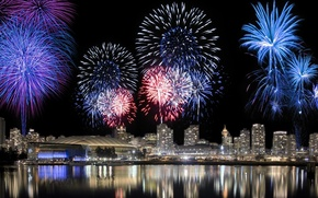 Picture Night, The city, Fireworks