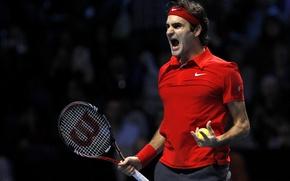 Picture Roger, tennis, federer, tennis, Federer, roger, ATP, Nike. Red