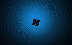 Picture line, blue, logo, windows