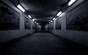 Picture background, blue, blur
