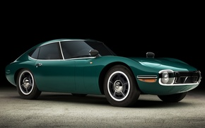 Picture Toyota, 1965, 2000GT