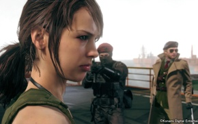Picture Kojima Productions, Metal Gear Solid V: The Phantom Pain, Quiet