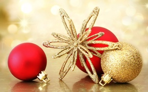 Picture decoration, holiday, toys, new year, ball