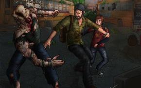Picture Ellie, the last of us, Joel, Joel, Ellie, schelkun