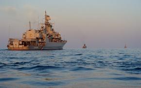 Picture Navy, exercises, frigate, Ukraine, Hetman Sahaidachny