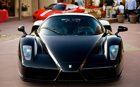 Picture Black, Machine, Ferrari, Ferrari, Car, Car, Enzo, Black, Enzo
