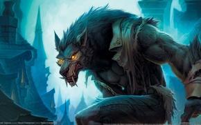 Picture World of Warcraft, Cataclysm, Blizzard, Worgen, Worgen, Gilneas